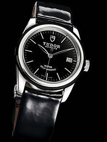 53020-Black patent leather strap