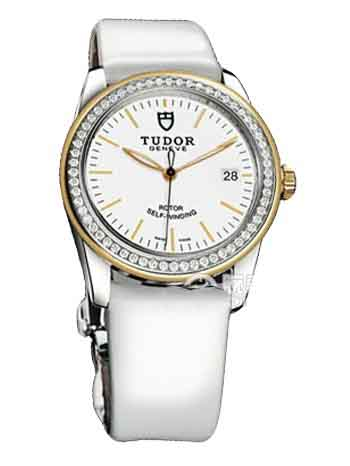 55023-White patent leather strap